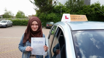 I passed my driving test yesterday I am very happy and I suggest people who have not passed their driving test yet or are looking to learn to drive should choose Empower driving school I first started my driving lessons with BSM driving school then I changed to AA which I thought was betterbut I still wasnacute;t happy and didn�t make a lot of progress Then a friend of mine recommended Emp