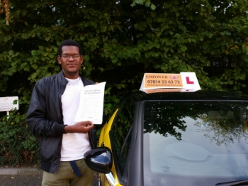Learning to drive with kal was a great experience He is very professional and friendly Many thanks for helping me pass my test I would definitely recommend you to anyone who wants to pass their test quickly<br />