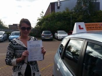 Thank you very much Kal for all your help over the last 7 month Its been great learning with you and funny too definitely I will recommend you to anyone want to pass the driving test first time with no hassle<br />