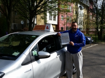 Many thanks to kal for helping me pass my test first time I will definitely recommend you to any one who wants a five star driving school<br />