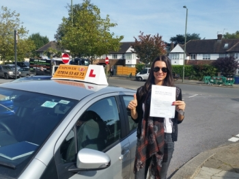 I want to thank you once again for your excellent instruction and expertise throughout my driving lessons Youacute;ve been extremely patient and understanding throughout helping me pass my test first time I have enjoyed my lessons and I will be recommending you to anybody who is looking for an instructor