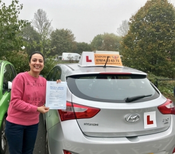 I found my experience with Empower Driving School to be very positive! Kal was always on time and very patient with me, and I passed my driving test first time with only 2 minors!! So thumbs up from me!