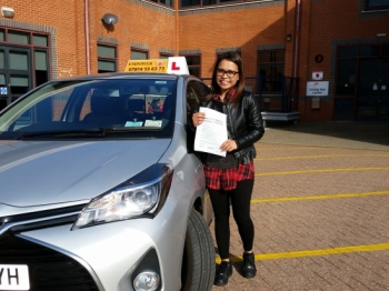 Thanks again to the superb lessons provided by KAL from Empower Driving School