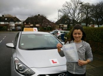 Thank you so much Kal for helping me pass first time Iacute;m simply over the moon Always clear calm supportive and friendly - driving with you has been an absolute pleasure Will certainly recommend you to any friends looking for a great instructor Wishing you all the best and maybe see you soon for a motorway session Jenny