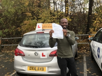 I passed my driving test first time today! I expected it though, with instructor like Kal, anyone can!!! Thank you.<br />