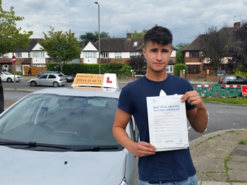 Just passed my test first time credit to Kal a fantastic teacher and a friend I wouldnacute;t have done it without your guidance and and support <br />