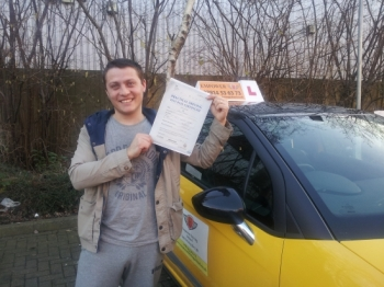 From my 1st lesson I felt very comftable with Kal.   With his relaxed but Proffessional approach , He gave me the confidence I needed to be a safe driver and pass my test 1st time.